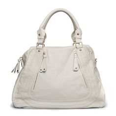 "I love this, in white, or in coral ""Caracas Purse"""