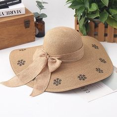 785575bcd07 Women s Summer Foldable Sunscreen Big Brim Bucket Cap Fisherman Hats  Vintage Vacation Beach Hat