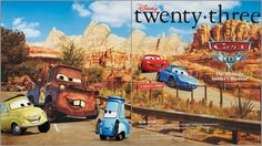 Pixar Post: D23 Fall 2012 Issue - Inside Cars Land