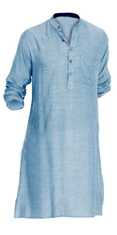 http://cherishmaternity.com/ MEN KURTA -SKY BLUE  CODE:MK2 100% COTTON KURTA ESPECIALLY MADE FOR DAD TO BE.CASUAL AND ETHNIC WEAR KURTA.