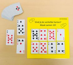 Maak samen 10 spel | Juf Joycella Little Learners, Scandal Abc, Kids Education, Mathematics, Circuit, Playing Cards, Holiday Decor, Blog, Maths