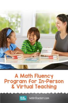 We Love This Math Fluency Program For In-Person and Virtual Teaching. The hand2mind Math Fluency Kits are based on building math fluency based on reasoning skills as opposed to memorization. #virtualteaching #onlinelearning #math #teachingmath #mathfluency #elementaryschool #teachingresources #classroomideas #teaching #middleschool Math Teacher, Teaching Math, Teaching Resources, Social Emotional Learning, Social Skills, Build Math, Math Talk, Number Sense, Elementary Schools