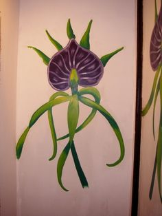 Black Orchid Painting (Found online)