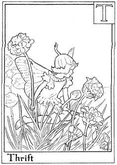 1000 images about alphabet fairy coloring pages on pinterest flower fairies alphabet