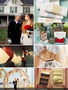 Marry You Me: Inspiration Board: Vintage Sailor Wedding