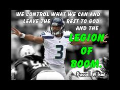Poster Russell Wilson Seattle Seahawks Photo by ArleyArtEmporium, $11.99 Seahawks Football, Football Is Life, Seattle Seahawks, My Champion, Russell Wilson, 12th Man, Motivation, Sayings, Quotes