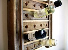 Recycled Pallet Wine Rack                                                                                                                                                                                 More
