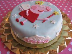 Jarita's Cookies: Tarta Peppa Pig Princesa