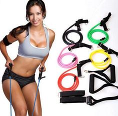 Up to 80% off! Reach your New Year's Resolutions without having to leave your home. These resistance bands are designed to effectively build muscle strength and tone the body. With different resistance levels from 5kg to 20kg to accommodate for progressive strength training levels, they can be combined to be used individually or combined to increase the intensity of your workout.