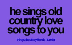 even though i'm from new york, and don't like country music, it makes me smile.........
