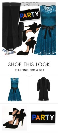 """""""Perfect Party Dress"""" by teoecar ❤ liked on Polyvore featuring Milly"""