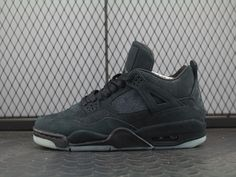outlet store 05373 43a63 KAWS X AIR JORDAN 4 COOL GREY BLACK 930155-001