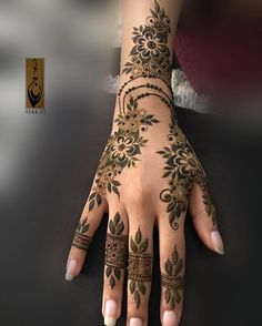 The latest news and ideas that are worth sharing. Henna Hand Designs, Mehandi Designs, Arabic Bridal Mehndi Designs, Mehndi Designs Finger, Stylish Mehndi Designs, Mehndi Design Pictures, Beautiful Henna Designs, New Mehndi Designs, Henna Tattoo Designs