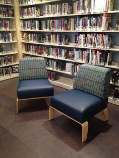 Library Furniture, Furniture Design, Kids Library, Bethlehem, Media Center, Kid Spaces, Design Elements, Armchair, Public