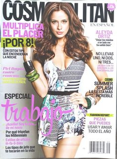 Aleyda Ortiz Cosmopolitan September 2014 Fashion Beauty Health Celebrity Spanish