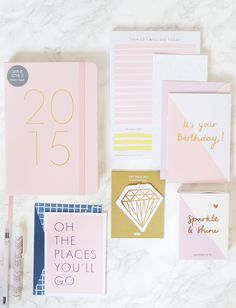 KiKKi.K 2015 Leather Diary & Stationery Accessories