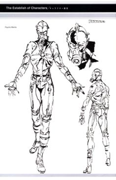 View an image titled 'Psycho Mantis Sketch' in our Metal Gear Solid art gallery featuring official character designs, concept art, and promo pictures. Metal Gear V, Metal Gear Solid Series, Metal Gear Rising, Character Art, Character Design, Gear Art, Japanese Characters, Dope Art, Video Game Art
