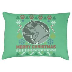 Akita Dog Breed Ugly Christmas Sweater Pet Bed - dog puppy dogs doggy pup hound love pet best friend