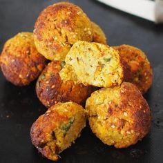 falafels de patate douce au four de mail0ves - MailoFaitMaison                                                                                                                                                                                 Plus
