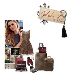 """I'll do what it takes 'til I touch the sky"" by viennemoore ❤ liked on Polyvore featuring Louis Vuitton, Michael Kors, Carvela, Lot78 and Seraphina"