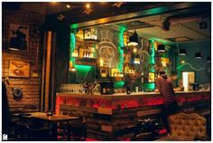 Steampunk Interior Design | Revolutionary Design Idea. Spectacular Steampunk Pub That Defies The ...