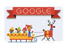 'Tis the season!: Google Doodle celebrates the first day of the holidays - World - News - The Independent 12-22-2014