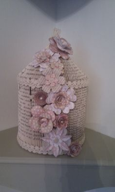 Bookfold with CWC flowers