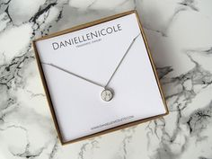 Round White Marble Necklace, Marble Pendant Necklace, Everyday Jewelry, Simple Necklace, Dainty Necklace, Elegant Necklace, Boho Chic, Boho by DanielleNicoleTO on Etsy