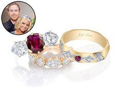 Jessica Simpson and Eric Johnson Wedding Rings