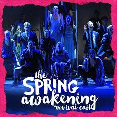 The Spring Awakening Revival Cast. November 25.