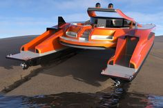 Amphibious Vehicle, Electric Winch, Sun And Water, Wide Body, Diesel Engine, Water Crafts, Solar Power, Yanko Design, Transportation