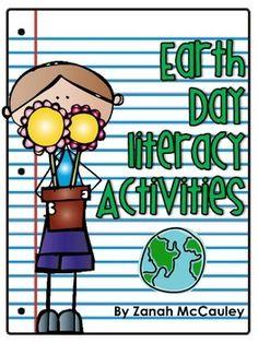 FREEBIE: Earth Day Literacy Activities