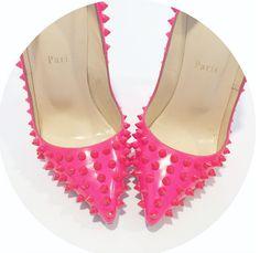 Pink Christian Louboutin Pumps - Designer Authentication Services for Handbags, Shoes, Fine Jewelry & Accessories | Luxury Designer Authentication
