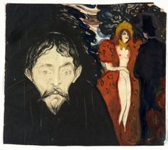 "elpasha711: ""Edvard Munch, Jealousy, 1896 """