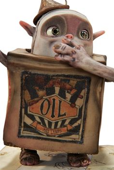 The Boxtrolls Oil Can Original Animation Puppet (LAIKA, 2014).... | Lot #94188 | Heritage Auctions