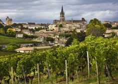 Saint-Émilion France is one of the principal red wine areas of Bordeaux; absolutely one of my favorite regions of France.