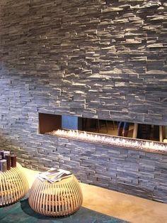 Voor de wand in de slaapkamer....zonder de stenen muur :)