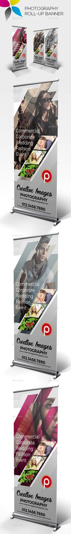 #Photography Roll-up #Banners - Signage Print Templates