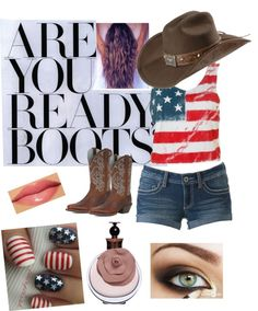 """""""Cowgirl"""" by greenbuggyboo ❤ liked on Polyvore"""