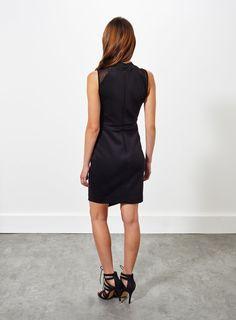 Photo 3 of Twist Front Scuba Dress