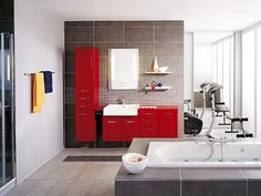 mens bathroom colours?