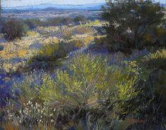 High Desert Afternoon by Margi Lucena Pastel ~ 14 x 11