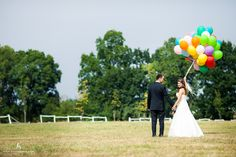 ballons on wedding