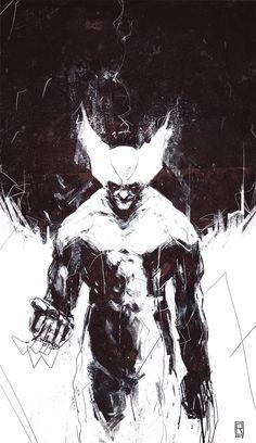 Wolverine fanart, Robert Cendrowicz on ArtStation at https://www.artstation.com/artwork/wolverine-fanart-82f47651-7618-4914-ad6f-a4a35db4af1a