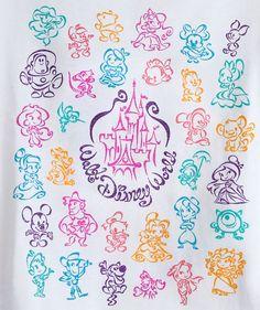Walt Disney World V-Neck Tee for Girls - Walt Disney World if only it came in my size :( Disney Pixar, Disney Diy, Disney Crafts, Disney And Dreamworks, Disney Love, Disney Magic, Walt Disney World, Kawaii Disney, Disney Icons