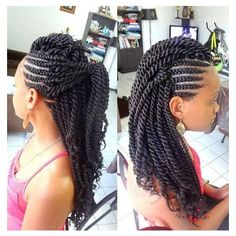 Want to protect your natural hair from damage and give it some rest from hair styling tools? Do it with kinky twists. kinky twists are a versatile protective s…