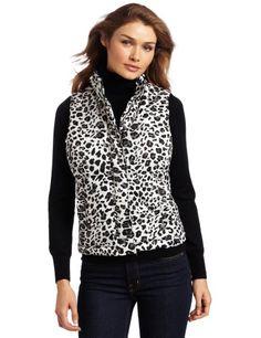 Jones New York Women`s Zipper Front Mock Neck Chanel Multi Quilted Vest $72.17