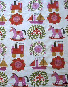 Jackanapes Conran 60s fabric