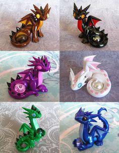 Random Gem Dragons by DragonsAndBeasties.deviantart.com on @deviantART