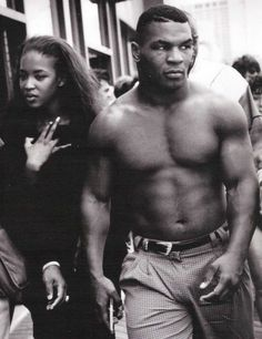 Naomi Campbell & Mike Tyson